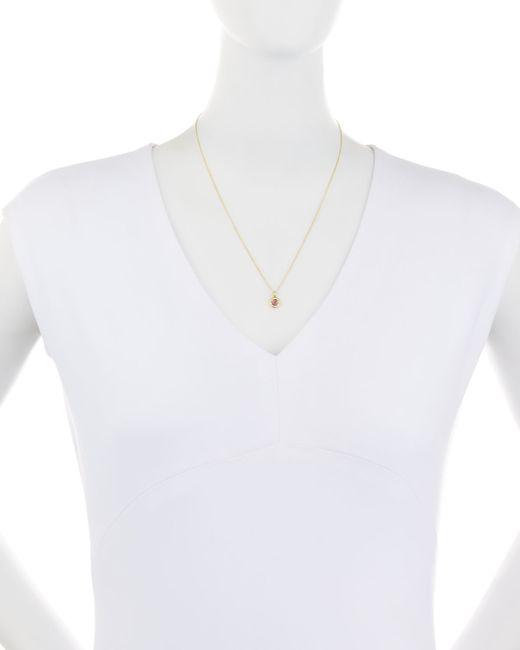 Ippolita | Metallic 18k Lollipop Mini Composite Ruby & Diamond Necklace | Lyst