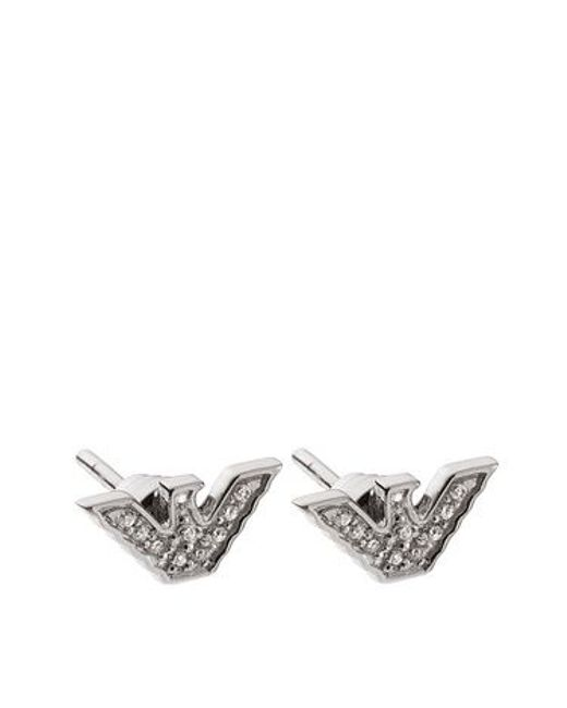 Emporio Armani | Metallic Eg3027040 Ladies Earrings | Lyst