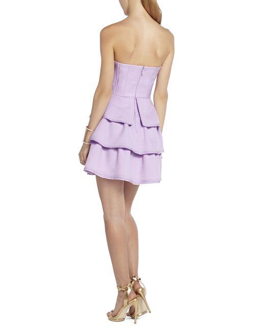 bcbgmaxazria jacklyn sleeveless tiered ruffle skirt dress