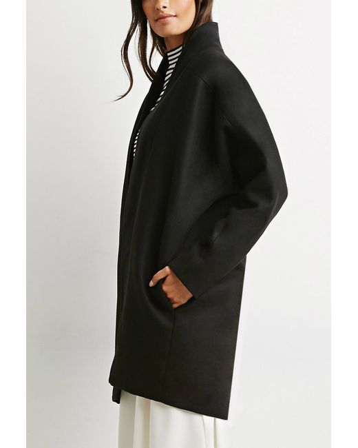 Forever 21 | Black The Fifth Label The Great Divide Coat | Lyst