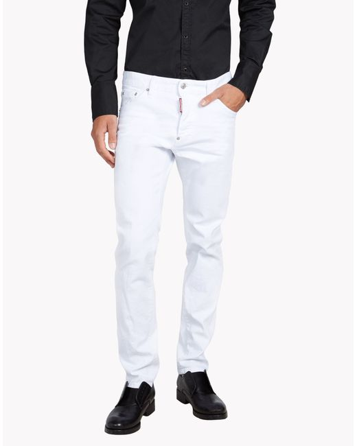 DSquared² | White Cool Guy Jeans for Men | Lyst