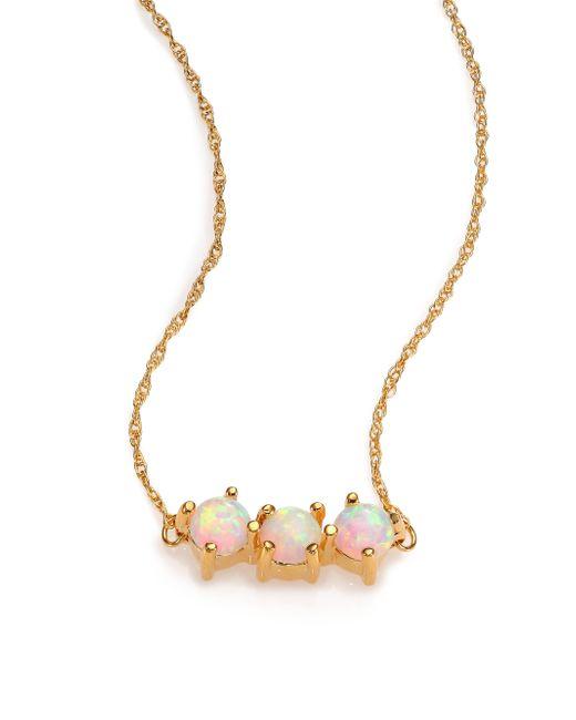Jennifer Zeuner | Metallic Victoria Opal Necklace | Lyst