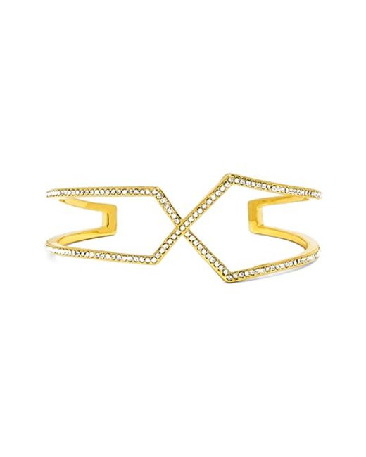 BaubleBar | Metallic 'siphon' Cuff Bracelet | Lyst
