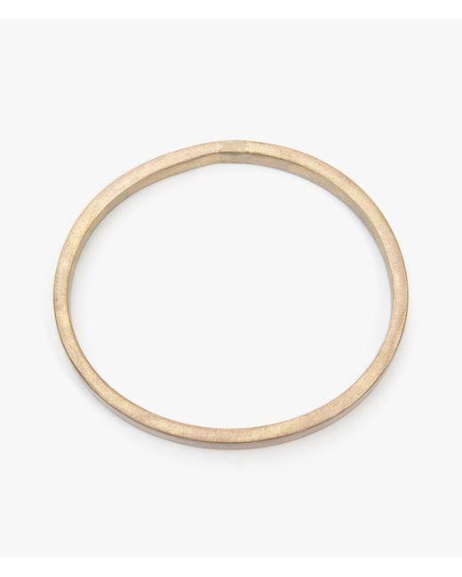 Marmol Radziner | Metallic Elliptical Bangle | Lyst