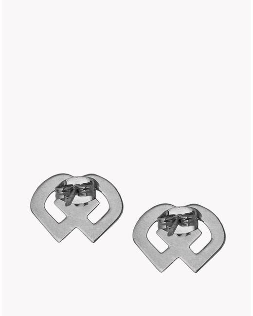 DSquared²   Metallic Dd Earrings   Lyst
