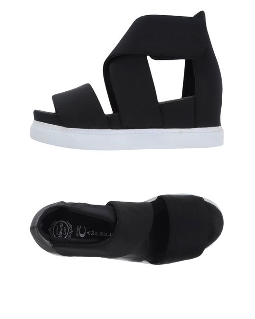 Jeffrey Campbell | Black Sandals | Lyst