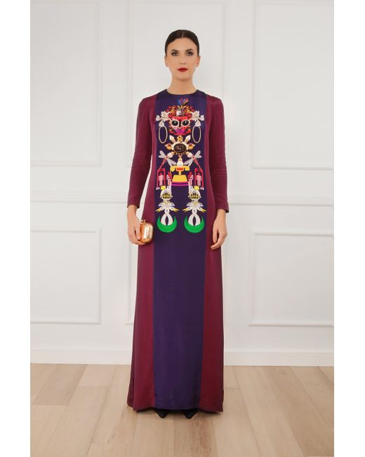 Mary Katrantzou | Multicolor Sentinel Printed Gown | Lyst