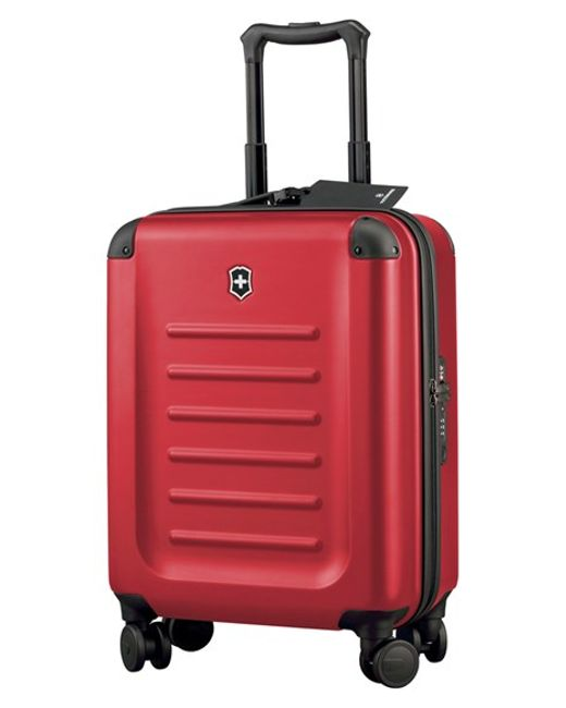 Victorinox | Red Victorinox Swiss Army 'spectra 2.0' Global Hard Sided Rolling Carry-on for Men | Lyst