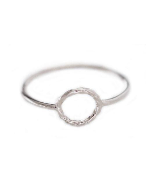 Cloverpost | Metallic Rope Ring | Lyst