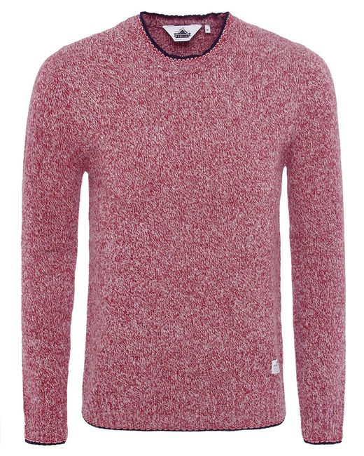 Penfield | Red Gering Melange 2tone Sweater for Men | Lyst