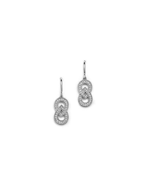 Dana Rebecca | Metallic 14k White Gold And Diamond Isabelle Brooke Earrings | Lyst
