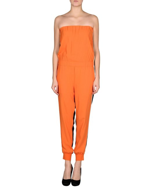 Innovative Com  Buy Fashion Orange Rompers Women Jumpsuits Sexy Lace Jumpsuit