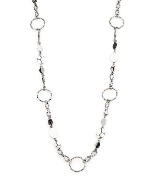 John Hardy | Metallic Kali Sterling Silver Menari Station Necklace | Lyst