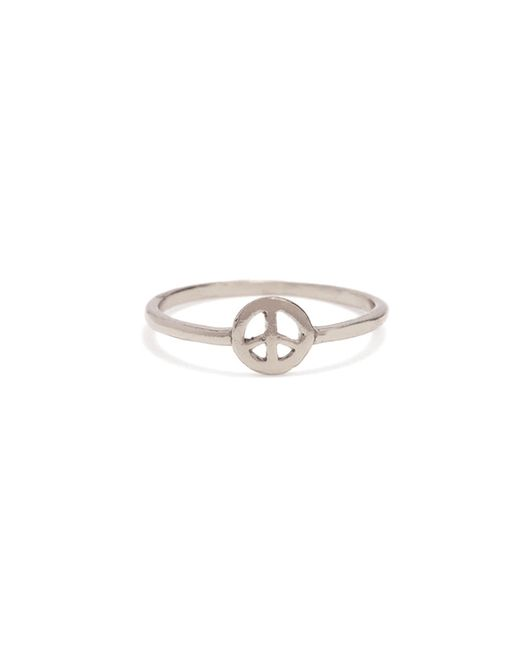 Bing Bang | Metallic Little Peace Ring | Lyst