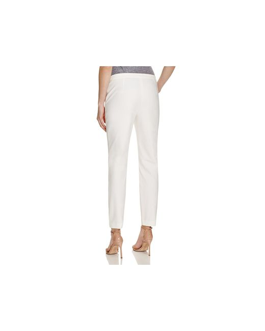 Theory | White Pants - Thaniel Approach | Lyst