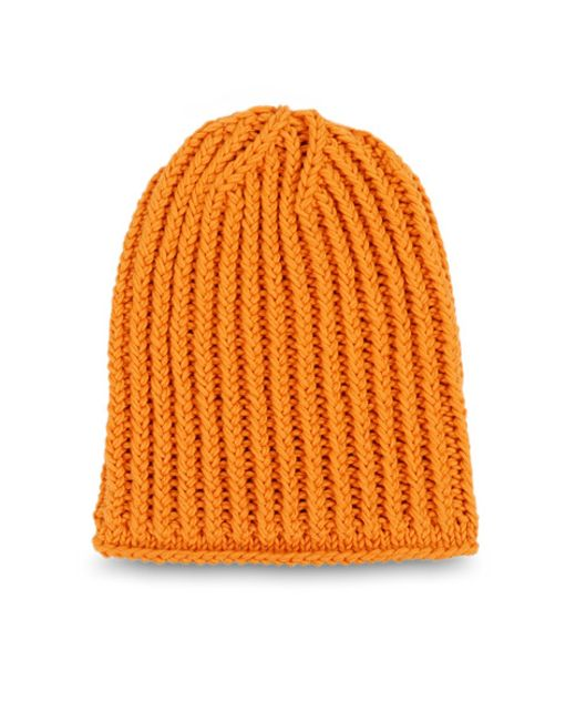 Wool and the gang gobi beanie in orange vitamin c lyst - Gang and the wool ...