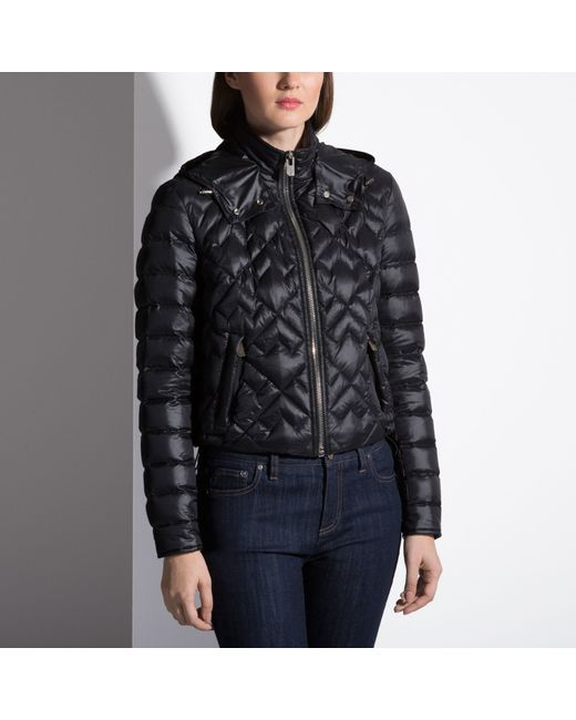 Bally Embroidered Down Jacket In Black   Lyst