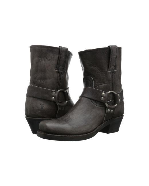 Frye | Gray Harness 8r Boots | Lyst