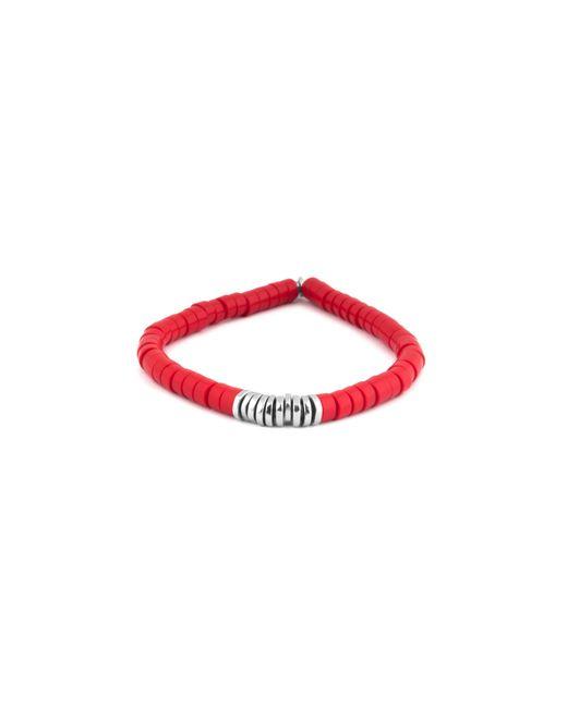 Tateossian | Multicolor Coral Disc Bead Bracelet for Men | Lyst