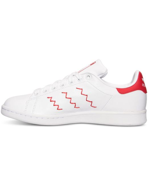 Stan Smith Adidas Trainers Red
