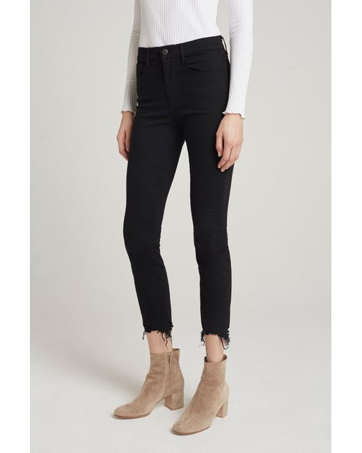 3x1 - W3 Skinny Crop | Black City Night - Lyst