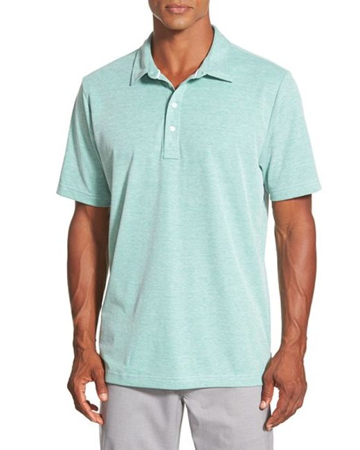 Travis Mathew | Green Crenshaw Trim-Fit Cotton Polo Shirt for Men | Lyst