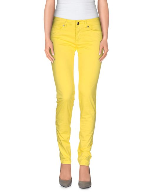 Roy Rogers | Yellow Casual Pants | Lyst