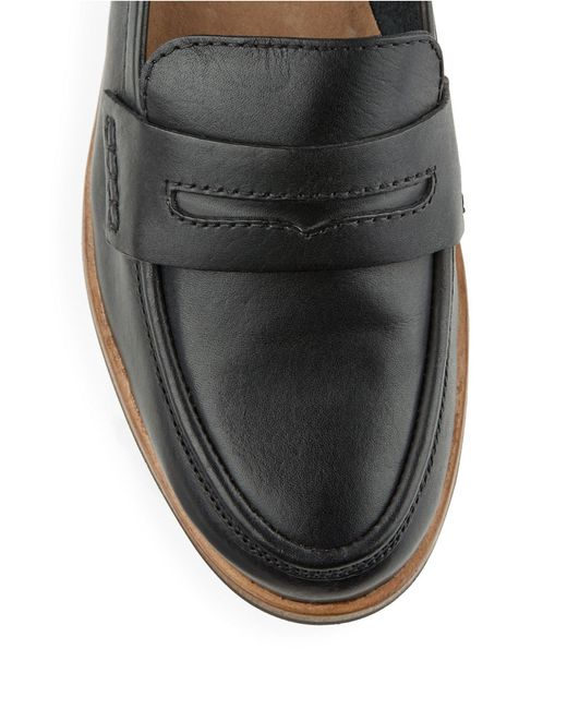 Seychelles | Black Tigers Eye Leather Loafers for Men | Lyst