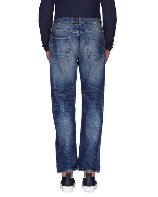 Golden Goose Deluxe Brand | Blue Denim Trousers for Men | Lyst