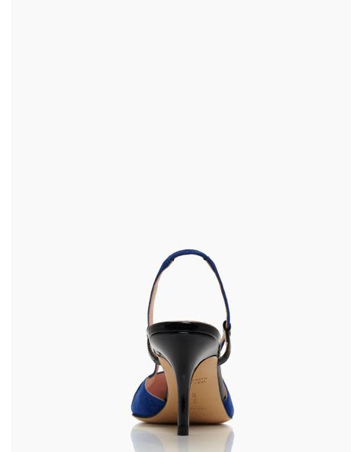 Kate Spade | Blue Jupiter Heels | Lyst