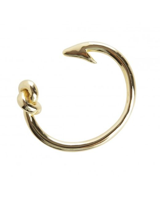 Rachael Ruddick | Metallic Hook And Knot Bangle | Lyst