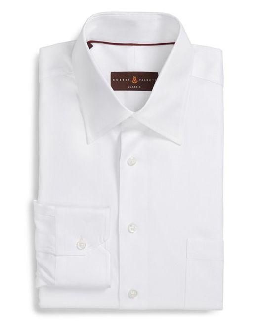 Robert Talbott | White Classic Fit Dress Shirt for Men | Lyst