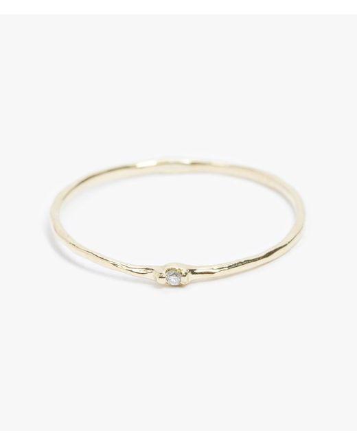 Grace Lee | Metallic Diamond Whisper Ring | Lyst