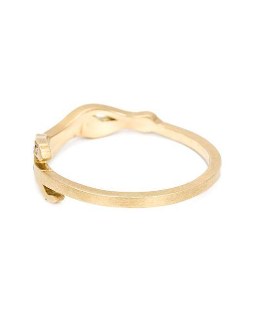 Marc Alary | Metallic Diamond 'cheetah Cycle' Ring | Lyst
