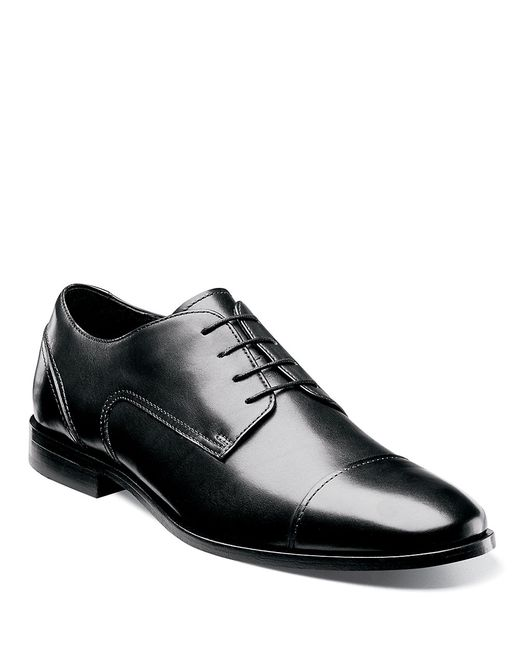 Florsheim | Black Forum Moc Toe Oxford for Men | Lyst