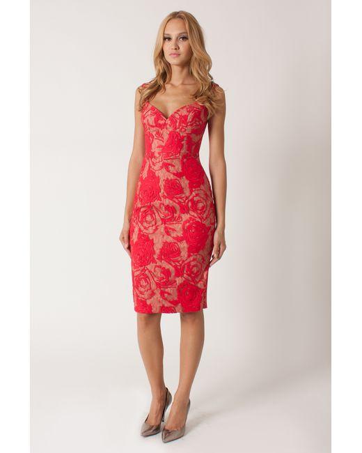 Black Halo | Pink Ally Off-the-Shoulder Sheath Dress  | Lyst