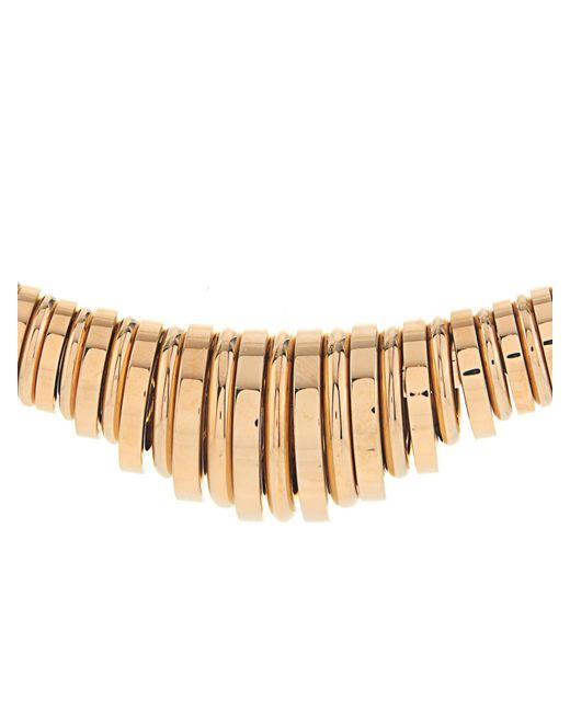 Chloé | Metallic Freja Brass Collar Necklace | Lyst