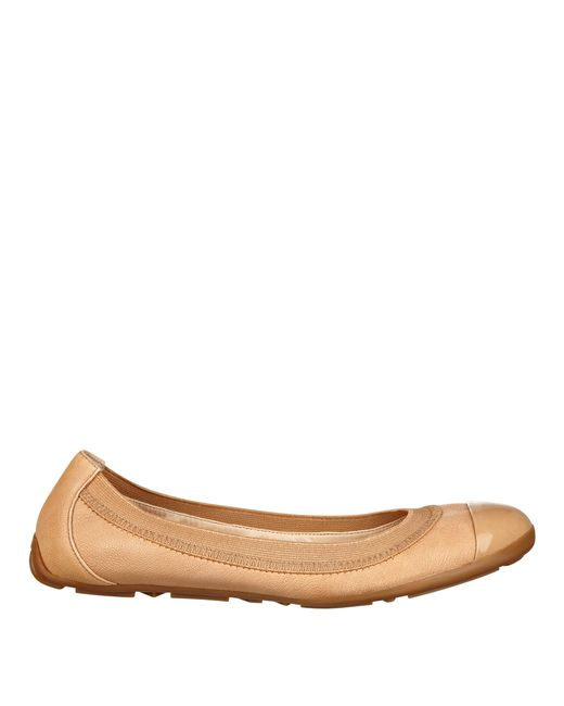 Nine West | Natural Jentle Ballet Flats | Lyst