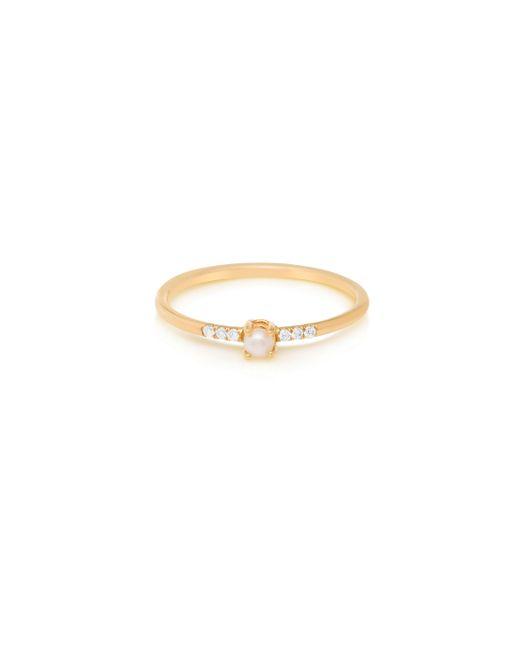 Jennie Kwon | Metallic Equilibrium Pearl Ring | Lyst