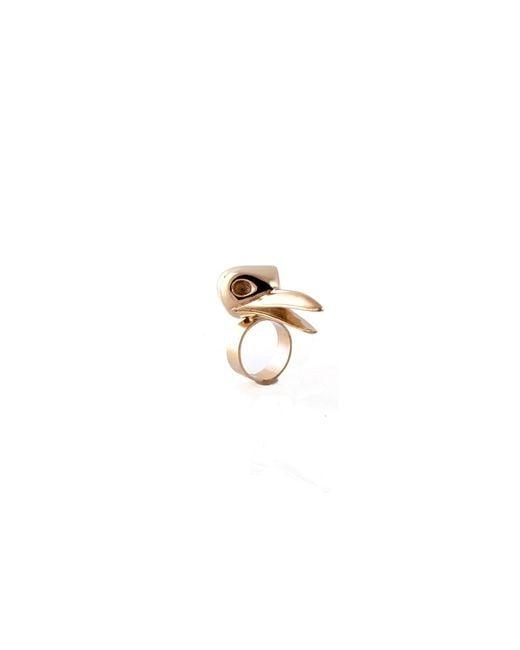 De La Forge | Metallic Corneille Gold Ring | Lyst