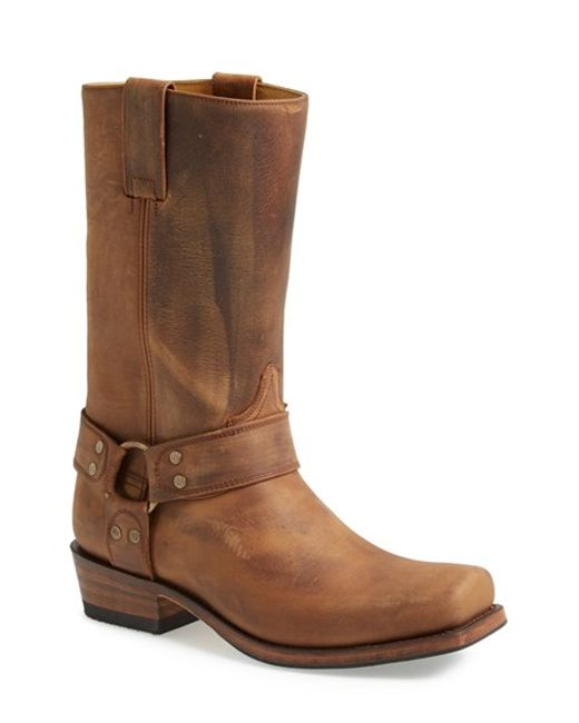 sendra boots harness boot in brown for lyst