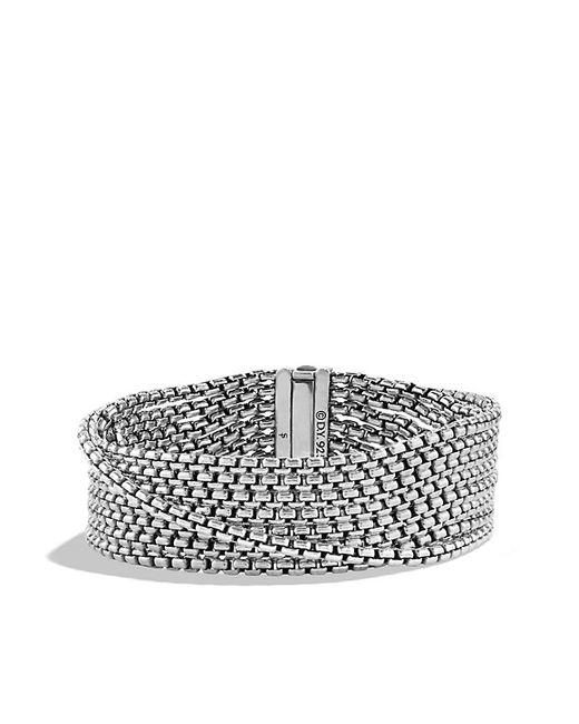 David Yurman | Metallic Chain Eight-row Bracelet, 18mm | Lyst