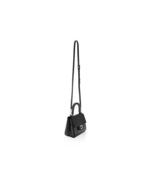 lili radu lili mini embossed python satchel bloomingdale 39 s exclusive in black lyst. Black Bedroom Furniture Sets. Home Design Ideas