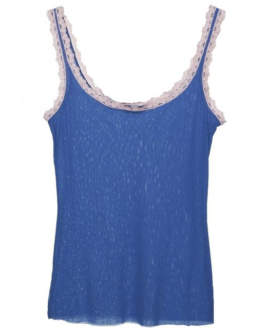 Cosabella | Blue Celine Camisole | Lyst