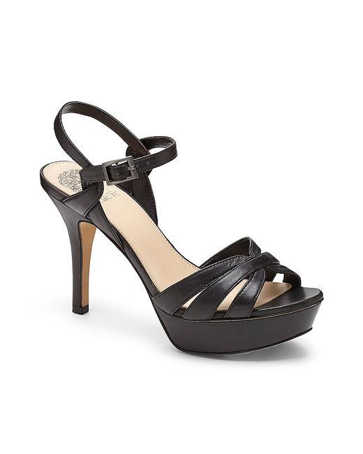 Vince Camuto | Black Peppa – Strappy Platform Sandal | Lyst