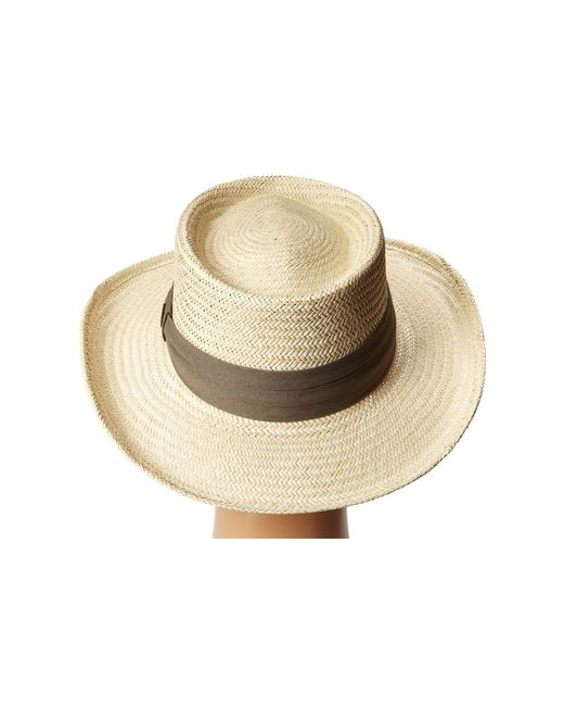 Tommy Bahama | Natural Palm Fiber Gambler With 3 Pleat Cotton Band for Men | Lyst
