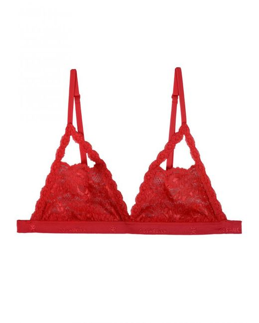 Cosabella | Red Never Say Never Peek-a-boo Bralette | Lyst