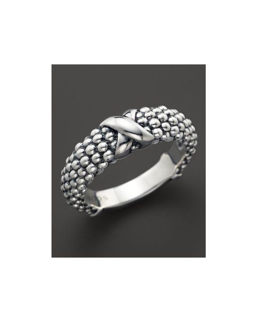 Lagos | Metallic Women's Caviar Ring | Lyst