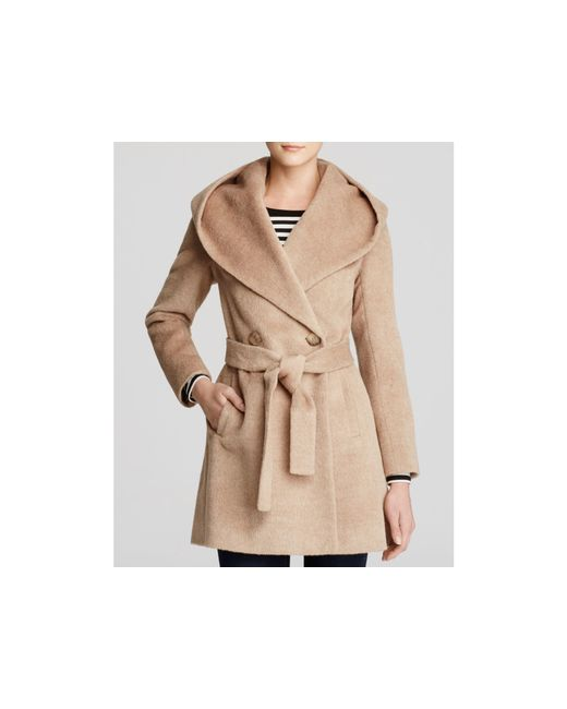 Trina Turk | Natural Grace Hooded Alpaca Coat | Lyst