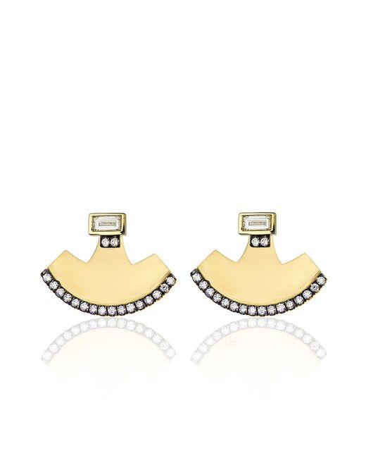 Jemma Wynne | Yellow Prive Diamond Baguette Stud Earrings | Lyst